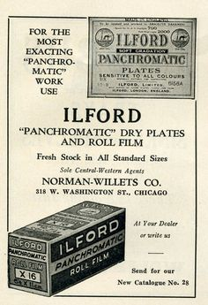 Ilford Panchromatic film 1932 by Nesster, via Flickr