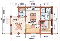 46 Ideas bathroom shelves decoration floors for 2019 Sauna House, Tiny House Cabin, Cabin Floor Plans, House Plans, Floor Design, House Design, Rustic Laundry Rooms, Closet Redo, Interesting Buildings