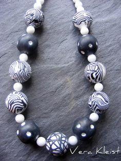 Safari Necklace by beadingvera - Schmuck Ideen Gestaltung, via Flickr