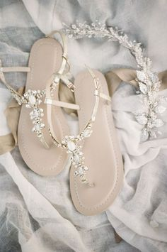 308 Best Bridal sandals images in 2019  72070d3c795d