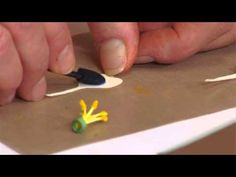 How to Use Sizzix Thinlits Columbine Flower Die - YouTube