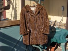 Mink jacket swing style 14 or 16 collar two by BarberryLane, $82.50