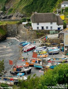 Cadgwith Cove, Cornwall by Tim Martindale Photography