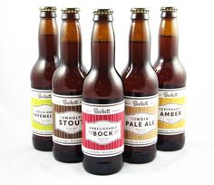 Personalized Printable Beer labels - gift idea for Hans' b-day