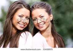 Twins Of Sister Stock Photo 53458975 : Shutterstock