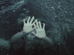 A sob escapes her throat, or a scream. Seawater floods her mouth. It's the utter blackness that undoes her.