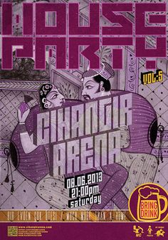 Cihangir Arena House Party VOL:5 (Kamasutra Concept)