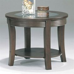 Blue Lake End Table by Wildon Home. $148.77. 5524 Features: -Glass top.-One storage shelf. Color/Finish: -Cappuccino finish. Dimensions: -Overall dimensions: 22'' H x 28'' W x 28'' D.