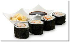Sushi Hosomaki mit Surimi