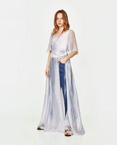 Imagine 1 din ROCHIE TIP CAPOT DIN ORGANZA de pe Zara