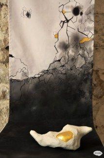 Crysalide - installation Illustrations, Aster, Painting, Radiation Exposure, Graphic Design, Artist, Illustration, Painting Art, Paintings