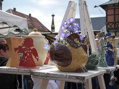 Impression vom Töpfermarkt in Wernigerode