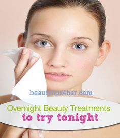 Post from: beautytips4her.com Please LIKE Beauty Tips 4 Her On Facebook so you don't miss a post. I love using overnight beauty treatments. I slather them on before I head to bed, and when I wake up, I look amazing. That's awesome! If you have never tried overnight beauty treatments, it's time to try one...Read More »
