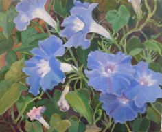 """KULA BLUE MORNING GLORIES""  (Available from Artist)"