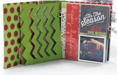 December Daily album created by design team member Rebecca Keppel