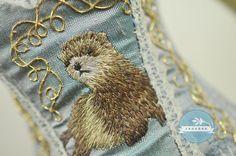 Little Ferret BJD Art Line Corset for Minifee by Raouken on Etsy