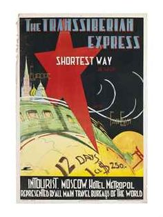 THE TRANSSIBERIAN EXPRESS, SHORTEST WAY BETWEEN EUROPE AND FAR EAST