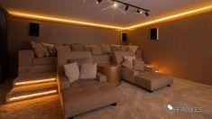 Amsterdam, Home Cinemas, Hercules, Studio, Man Cave, Basement, Nova, Bed, Furniture