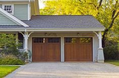 Dress up your garage with fresh paint.