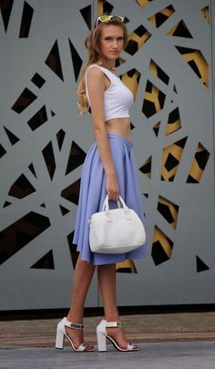FLEXY FASHION: ASYMMETRICAL SKIRT