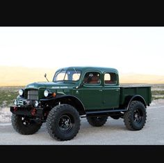 Old lifted Dodge!!