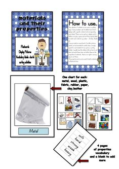Materials and their Properties bundle - Teaching for the love of it.