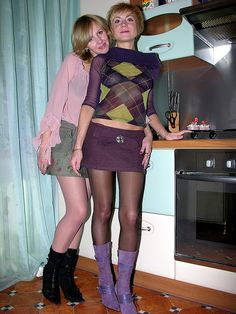 Emma was not so sure about getting Paul to wear skirts now, he seemed to be enjoying it too much.