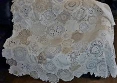 A sales site, no instructions.                          doily quilts
