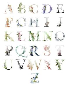 Ethereal Woodland Boho ABC Alphabet Sampler Art Print by Pink Forest Cafe. All prints are professionally printed, packaged, and shipped within 3 - 4 business days. Choose from multiple sizes and hundreds of frame and mat options. Alphabet Wall Art, Abc Alphabet, Alphabet Design, Alphabet Posters, Forest Cafe, Pink Forest, Stencil Designs, Tag Art, Wall Art Prints