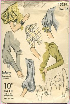 NewVintageLady: The Vintage Pattern Primer: Collecting Accessory Patterns. - NewVintageLady: The Vintage Pattern Primer: Collecting Accessory Patterns. You are in the right plac - Fashion Design Sketchbook, Fashion Design Drawings, Fashion Sketches, Drawing Fashion, Fashion Figure Drawing, Retro Mode, Mode Vintage, Vintage Style, Unique Vintage