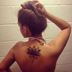Lotus flower tattoo! #tattoo #lotusflower #lotus #flordeloto