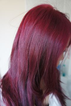 Base hd red violet with 40 vol lifted highlights with pravana 40 diy hair dye future color solutioingenieria Image collections