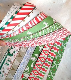 Froebel Moravian Star Strip Weaving Papers, 1-inch, 100 Pack, Double Sided Holiday - http://www.specialdaysgift.com/froebel-moravian-star-strip-weaving-papers-1-inch-100-pack-double-sided-holiday/