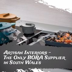 BORA hobs allow freedom for kitchen design | No overhead extractor hood | 100% Clean Air Rating | Quiet operation. #bora #hobs #kitchen #design #appliances