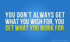 you dont get what you WISH for. you get what your WORK for… #fitness #inspiration