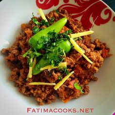 Indian non veg recipes in hindi pdf cookieandbookie recipes to keema karahi garnished with coriander green chilli and ginger forumfinder Gallery