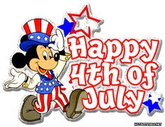 clipart happy 4th of july