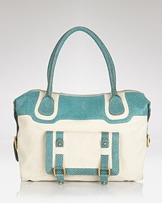 Treesje - Valor Canvas and Leather Tote