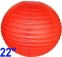 "Red Chinese/Japanese Paper Lantern/Lamp 22"" Diameter - Just Artifacts Brand by Just Artifacts. $2.98. Great for party and home decoration. Check Just Artifacts products for more available colors/sizes."