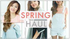 Spring 2015 Haul | Top Shop, Brandy Melville, Nasty Gal, etc! | ilikeweylie