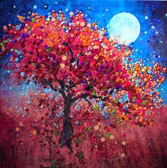 Harvest Moon  Abundance Blessing by EnergyArtistJulia on Etsy, $48.00