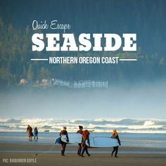 Quick Escape: Seaside on the Oregon Coast Seaside Oregon, Oregon Beaches, Oregon Coast, Pacific Beach, Pacific Coast, Pacific Northwest, Around The World In 80 Days, Around The Worlds, Mini Vacation