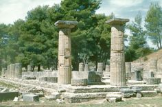 Olympia - Elis Greece. The site of the original Olympic Games - a great place for the budding archaeologist in your family :D