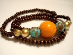 Yoga Bracelet  Boho Bracelet  Boho Chic Bracelet  by Gnosticos, $24.00