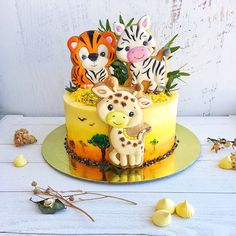 New Cake Decorating Baby Shower Sweets Ideas Baby Shower Cupcakes For Girls, Baby Shower Sweets, Girl Cupcakes, Baby Shower Cakes, Fondant Cupcakes, Cupcake Cakes, Sweets Cake, Fondant Baby, Safari Cakes