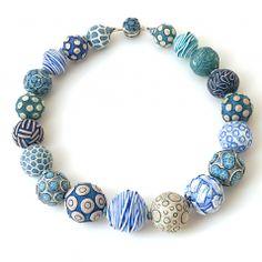 Big Bead Necklace (093)