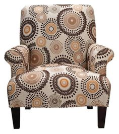 Cameron Multi Brown Accent Chair
