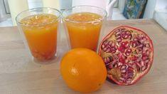 Appelsin- og granatepledrikk