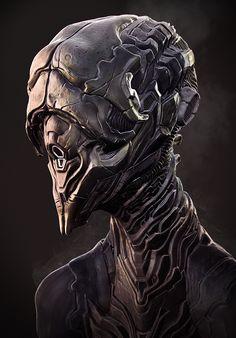 Alien bust By Rhythem02