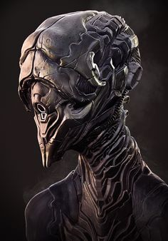 Alien bust By Rhythem02